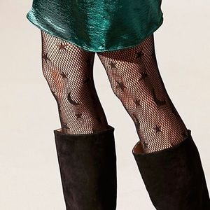 free people celestial net tights